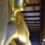 Bouddha couché, Wat Pho, Bangkok, Thaïlande
