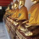 Bouddhas, Wat Pho, Bangkok, Thaïlande