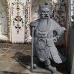 Statue au Wat Arun, Bangkok, Thaïlande