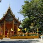 Temple sur les klongs, Bangkok, Thaïlande