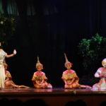 Spectacle de Khôn, Bangkok, Thaïlande
