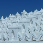 Pagode blanche, Mingun, Myanmar
