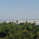 Vue sur l'Irrawaddy, Mingun, Myanmar