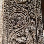 Détails d'un temple, Bagan, Myanmar