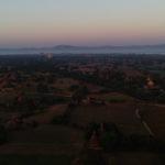 Lever de soleil, Bagan, Myanmar
