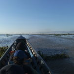 A bord de notre barque, Inlé, Myanmar