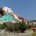 Plus grand bouddha couché du monde, Moulmein, Myanmar