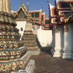 Stupas et temples, Wat Pho, Bangkok, Thaïlande