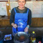 Cours de cuisine, Nyaungswhe, Myanmar