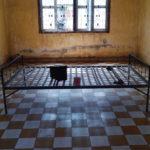 Salle de torture dans S-21, Phnom Penh, Cambodge