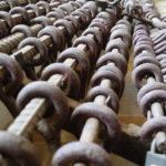 Les fers des prisonniers, Phnom Penh, Cambodge