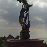 Monument, Kep, Cambodge