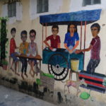 Street art à Battambang, Cambodge