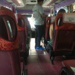 Le bus Giant Ibis, pas si classe, Ho Chi Minh, Vietnam