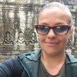 Contente d'être là je crois, Angkor, Cambodge
