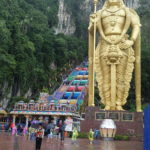 Batu Caves statue, Kuala Lumpur, Malaisie
