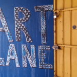 Art lane entrance, Georgetown, Malaisie