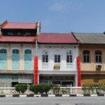 Vieux bâtiments, Ipoh, Malaisie
