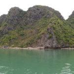 Eau turquoise dans la baie, Baie de Lan Ha, Vietnam