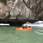 Stars on the kayak, Baie d'Halong, Vietnam