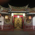 Joli temple chinois, Malacca, Malaisie