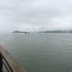 Vue du bateau, Baie d'Halong, Vietnam