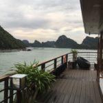 Notre bateau de croisière, Baie d'Halong, Vietnam