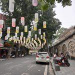 Lanternes à Hanoï, Vietnam