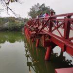 Pont rouge, Hanoï, Vietnam