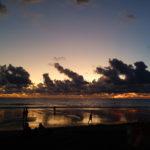Coucher de soleil, Seminyak beach, Bali