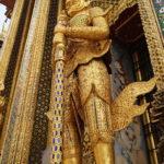 Statue du Palais royal, Bangkok, Thaïlande
