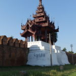 Tour du grand palais, Mandalay, Myanmar
