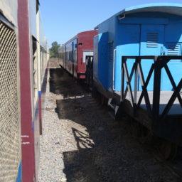 Rejoindre Inlé en train