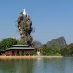 Pagode Kyauk Ka Latt, Hpa-An, Myanmar