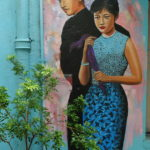 Yangon Walls, Yangon, Myanmar
