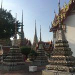Stupas, Wat Pho, Bangkok, Thaïlande