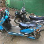 Mon e-bike, Bagan, Myanmar