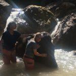 C'est l'heure du bain, Green Hill valley, Kalaw, Myanmar