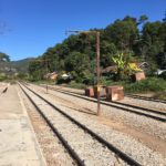 Rails de la gare de Kalaw, Myanmar