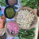 Beans au Mingalar market, Nyaungshwe, Myanmar