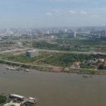 Vue de la Bitexco Tower, HCMC, Vietnam