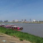 Bords du Mékong, Phnom Penh, Cambodge