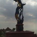 Monument, Kep, Cambodge