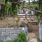 Villa coloniale en ruines, Kep, Cambodge