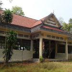 Temple dans le parc national, Kep, Cambodge