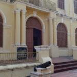 Palais du gouverneur, Kampot, Cambodge
