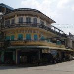 Bâtiment colonial, Battambang, Cambodge