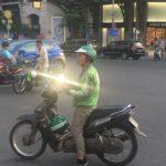 Mon chauffeur Grab, HCMC, Vietnam
