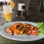 Crevettes kroeung, Kep, Cambodge