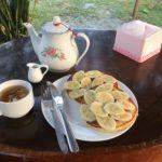 Petit-déjeuner à Kep Stay Bungalows, Kep, Cambodge